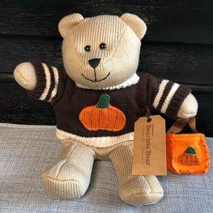 Starbucks The Bearista Halloween Pumpkin Bear